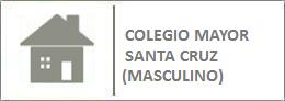 Colegio Mayor Santa Cruz (Masculino). Valladolid.