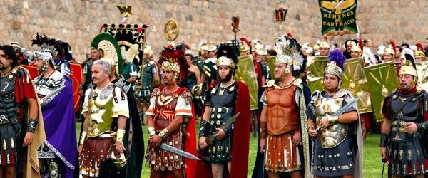 Fiestas en espa a fiestas de carthagineses y romanos en for Estudiar interiorismo murcia
