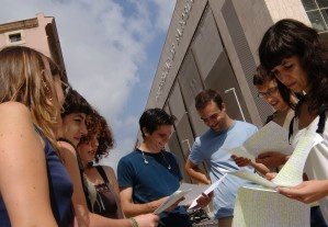 Group of students at the University of Barcelona © Universidad de Barcelona
